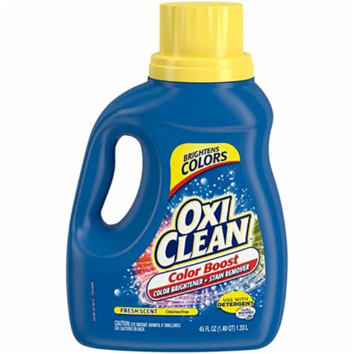 OxiClean Color Boost Fresh Scent Color Brightener and Stain Remover Perspective: front