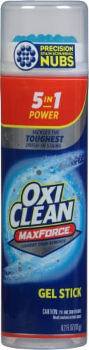 OxiClean™ 5-in-1 Max Force Laundry Stain Remover Gel Stick Perspective: front