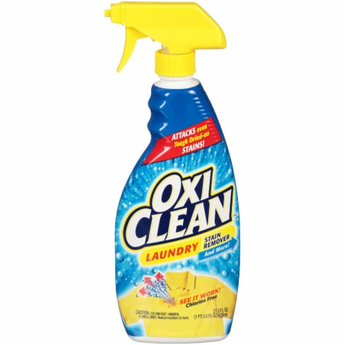 OxiClean™ Laundry Stain Remover Spray Perspective: front