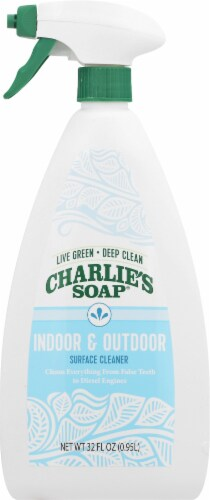 Charlie's Soap Indoor & Outdoor Surface Cleaner Perspective: front