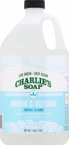 Charlie's Soap Indoor/Outdoor Surface Cleaner Perspective: front