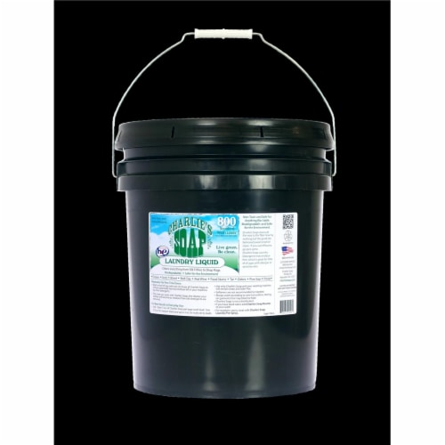 Charlies Soap 21505 Laundry Liquid 5 Gallon Perspective: front