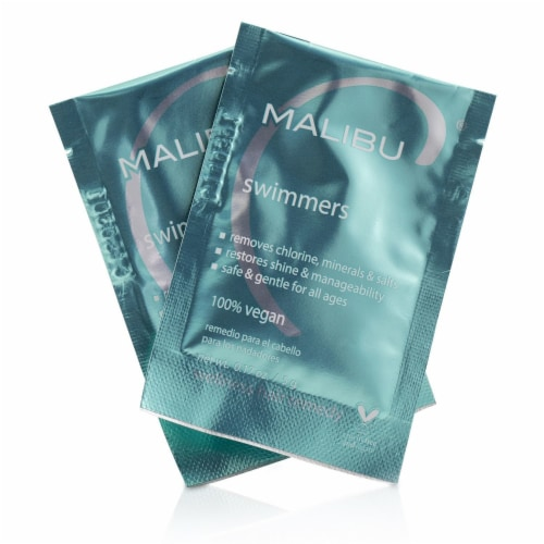 Malibu C Swimmers After Swim Solution 12 Pack Perspective: front