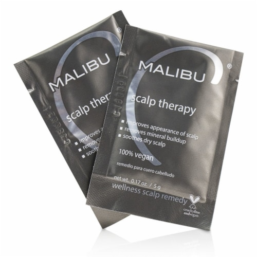 Malibu C Scalp Therapy Natural Wellness Treatment 12-pk Perspective: front