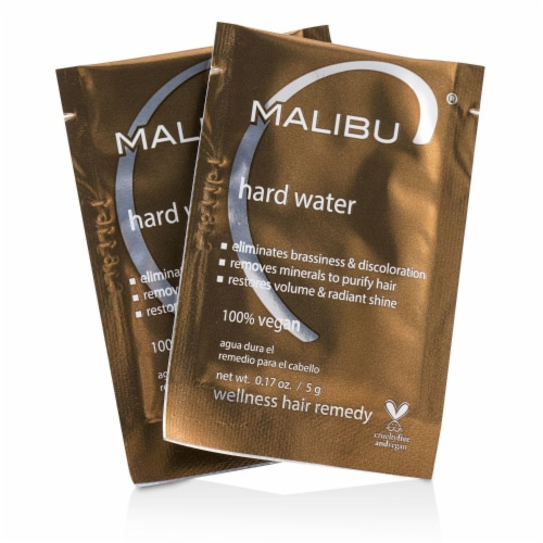 Malibu C Hard Water Weekly Demineralizer 12 Pack Perspective: front