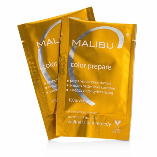 Malibu C Color Prepare 1 Step to Perfect Color 12 Pack Perspective: front