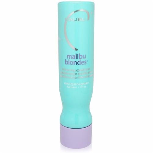 Malibu C Blondes Enhancing Conditioner 9 oz Perspective: front
