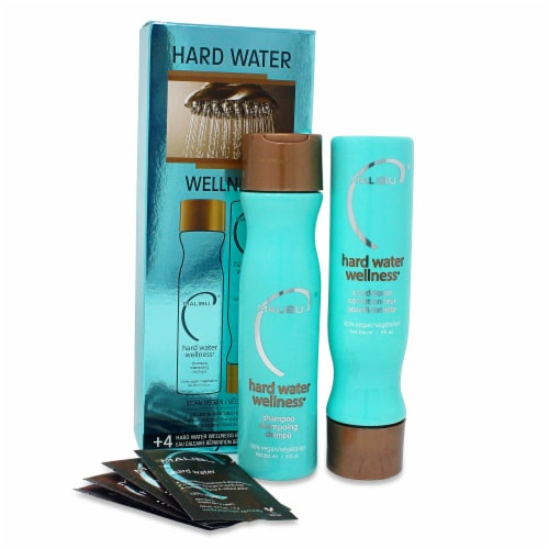 Malibu Hard Water Wellness Hair Treatment Kit Perspective: front