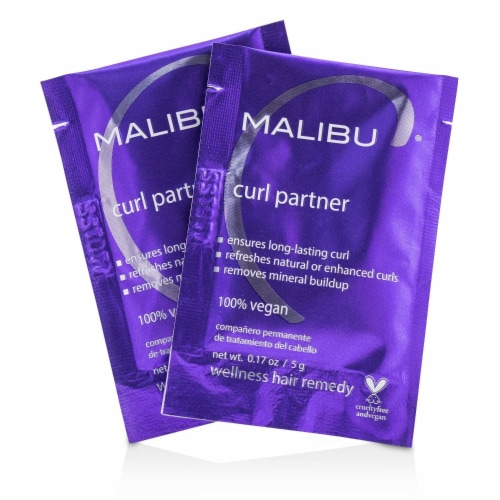 Malibu C Curl Partner Wellness Hair Remedy 12x5g/0.17oz Perspective: front