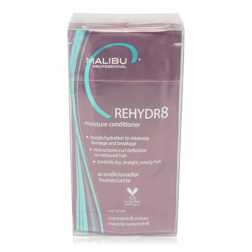 Malibu C Rehydr8 Moisture Conditioner 6 Pack Perspective: front