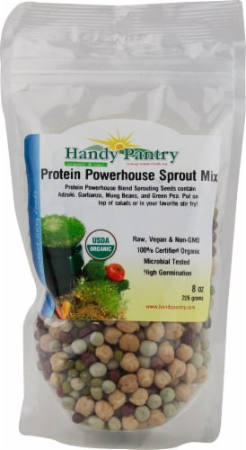 Handy Pantry Organic Protein Powerhouse Sprout Mix Perspective: front