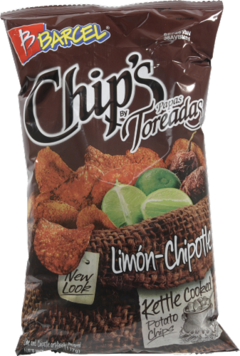 Barcel Chips Limon-Chipotle Perspective: front