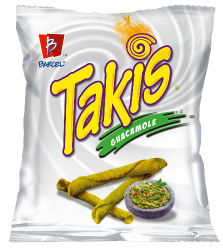 Takis Guacamole Tortilla Chips Perspective: front