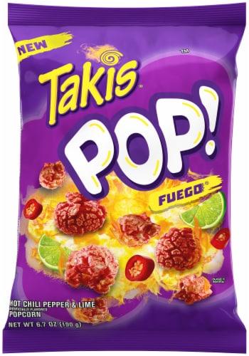 Barcel Pop Fuego Popcorn Perspective: front