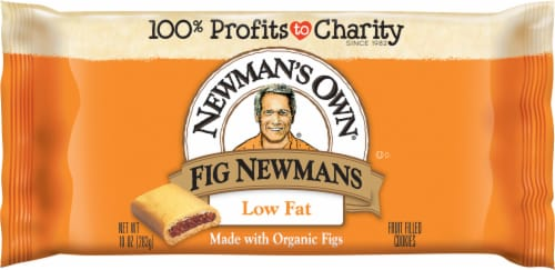 Newman's Own Low Fat Fig Newmans Cookies Perspective: front