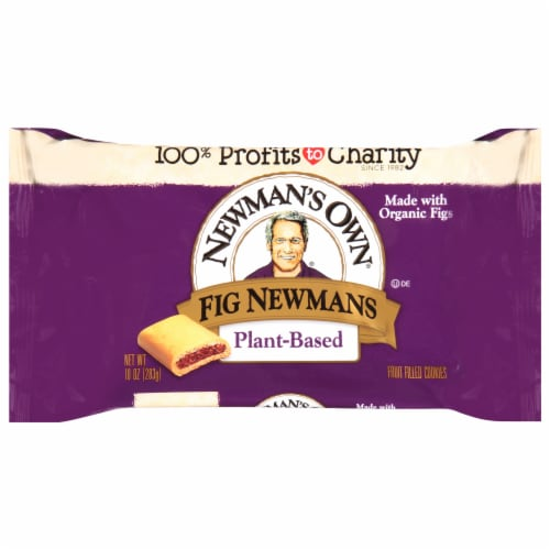 Newman's Own Wheat Free Non-Dairy Fig Newmans Cookies Perspective: front