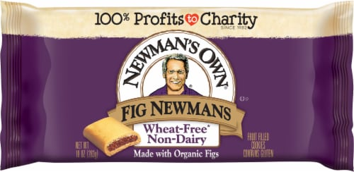Newman's Own Wheat-Free Non-Dairy Fig Newmans Cookies Perspective: front
