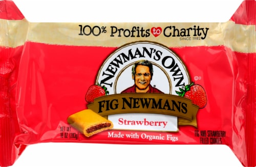 Newman's Own Fig Strawberry Cookies Perspective: front