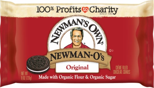 Newman's Own Original Newman-O's Cookies Perspective: front