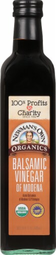 Newman's Own Organics Balsamic Vinegar of Modena Perspective: front