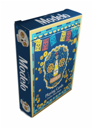 Cartamundi Modelo Licensed Playing Cards Perspective: front