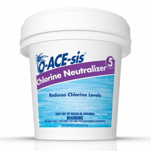 O-ACE-sis Chlorine Neutralizer 5 lb. - Case Of: 8; Perspective: front