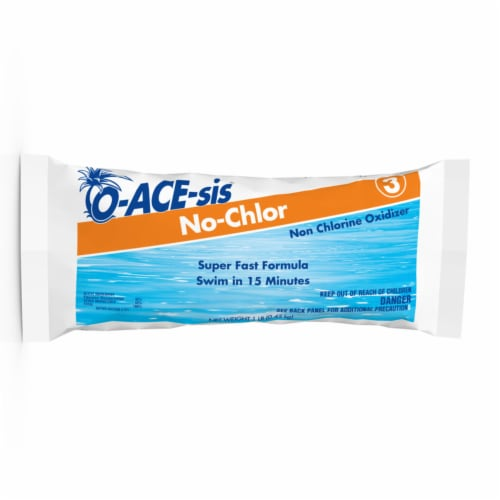 O-ACE-sis Non-Chlorine Shock 1 lb. - Case Of: 12; Perspective: front