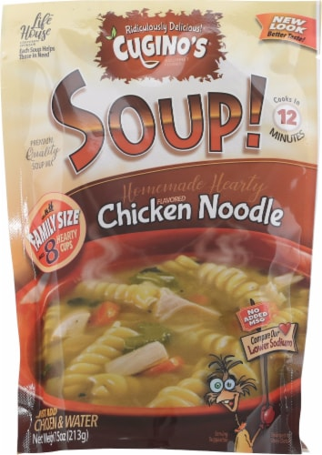 Cugino's Chicken Noodle Soup Mix Perspective: front