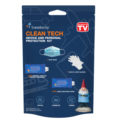 Travelocity Clean Tech Traveler Kit Perspective: front