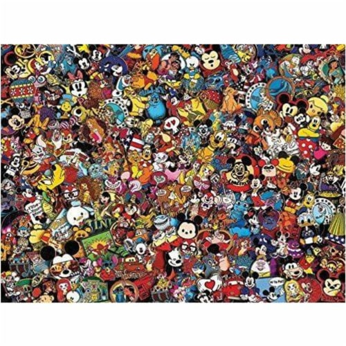 Ceaco Disney Photo Magic Pins Jigsaw Puzzle - 750 Pieces Perspective: front