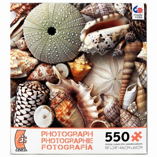 Ceaco Photography - Sea Shells - 550 Pieces Perspective: front