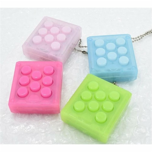 Puchi Pop Sound Keychain Fidget Toy [pack of 2] Perspective: front