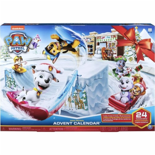PAW Patrol Advent Calendar Perspective: front