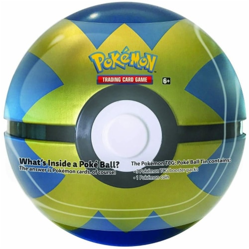 Pokemon TCG Card Game Poke Ball - Blue and Gold Perspective: front