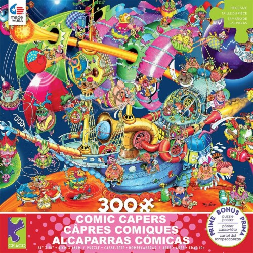 Ceaco Comic Capers Looking for Mars - 300 Piece Puzzle Perspective: front