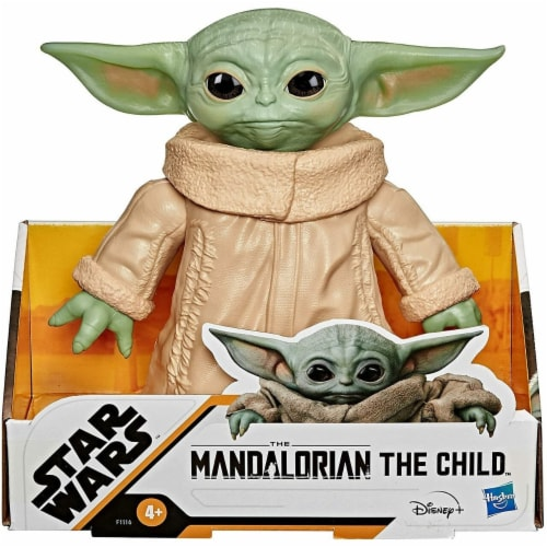 Star Wars The Child Toy The Mandalorian 6.5-Inch Posable Action Figure Perspective: front