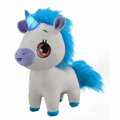 Wish Me Pets Glow Plush - Tinks Unicorn Perspective: front