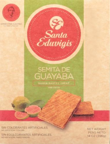 Santa Eduvigis Guava Pastry Treat Perspective: front