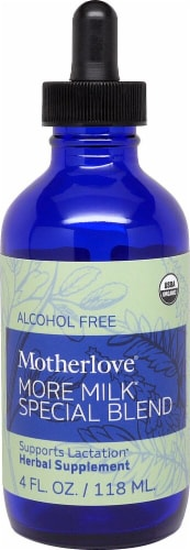 Motherlove  More Milk Special Blend Alcohol Free Perspective: front