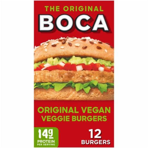 Boca Original Veggie Burgers Perspective: front