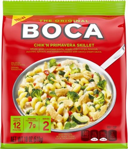 Boca Vegetarian Chik'n Primavera Skillet Dinner Perspective: front