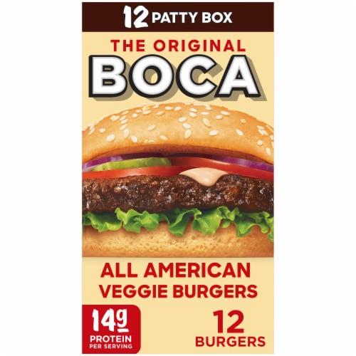 Boca Original All-American Veggie Burgers Perspective: front