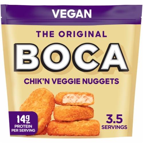 Boca Original Chick'n Veggie Nuggets Perspective: front