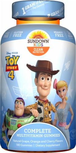 Sundown Naturals Kids Toy Story 4 Multivitamin Gummies Perspective: front