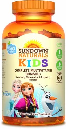 Sundown Naturals Kids Frozen Complete Multivitamin Gummies Perspective: front