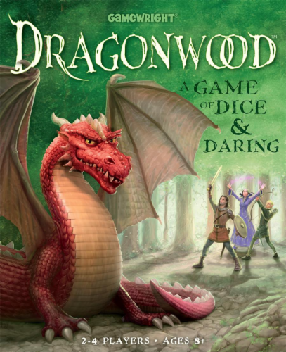 Gamewright® Dragonwood: A Game of Dice and Daring Perspective: front