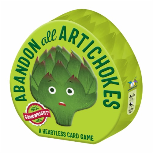 Gamewright Abandon All Artichokes Card Game Perspective: front