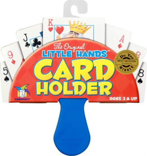 The Original Little Hands Card Holder Perspective: front