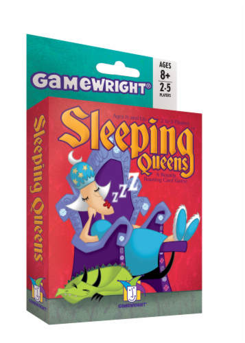 Gamewright Sleeping Queens Card Game Perspective: front