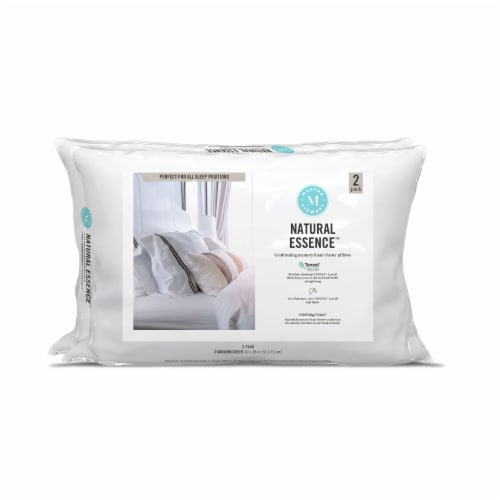 Martha Stewart Natural Essense™ Conforming Memory Foam Cluster Pillows Perspective: front
